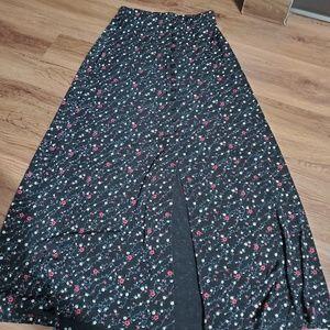Skirt long Floral